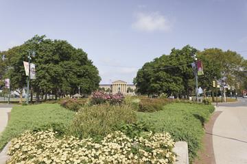 View of the Philadelphia Museum of Art