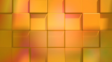 orange gradient relief surface from cubes soft light stop