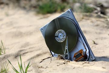 lost computer data storage