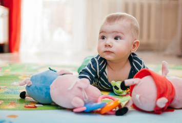 three-months kid