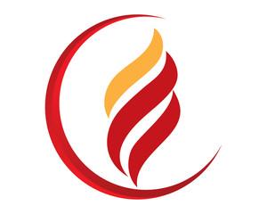 Fire Flame Symbol Logo Icon