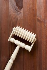 Handheld Wooden Massager