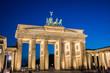 Berlin - AUGUST 4, 2013: Brandenburg Gate on August 4 in Germany