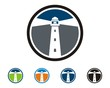 Lighthouse Circle Logo - 80324308