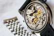 Vintage watch and stainless steel strap - 80324364