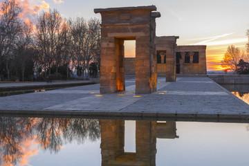 Templo de Debod, Madrid (España)