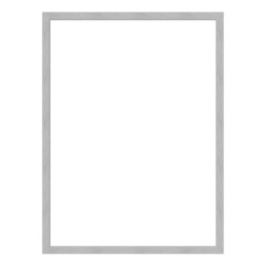 Picture frame, metal brushed, picture format 4:3