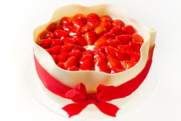イチゴのケーキ  Cake of the strawberry