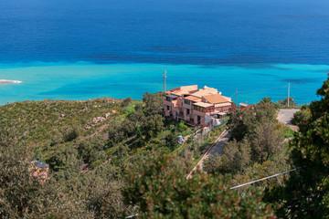 Modern house at Sicily