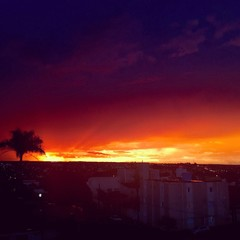 sunset - Uberlândia (Brazil)
