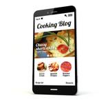 cooking blog phone