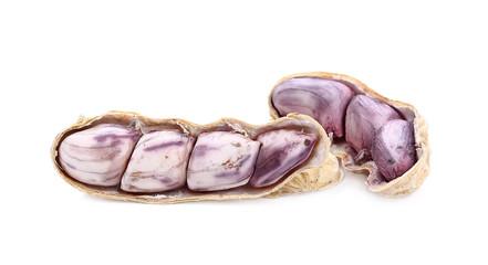 peanut, nut, goober, ground-nut, monkey-nut isolated