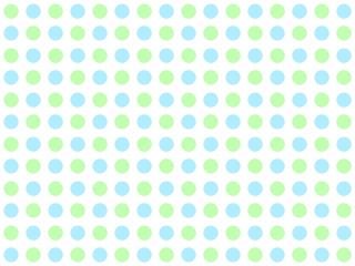 Pünktchenmuster hellgrün und hellblau