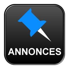 schwarzer Button: Annonces