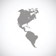 Continental Americas black icon