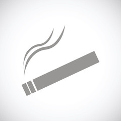 Cigarette black icon