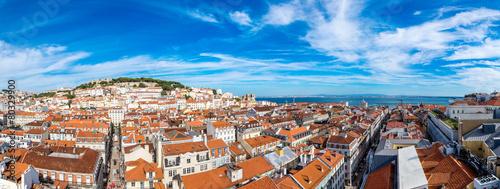 Foto op Canvas Europa Lisbon Skyline