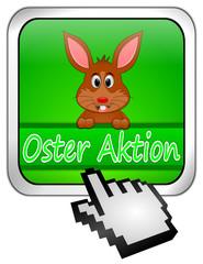 Button Oster Aktion mit Osterhase