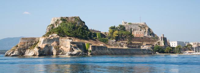 Korfu Stadt mit Festung