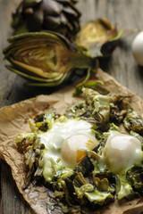 Artichoke Eggs