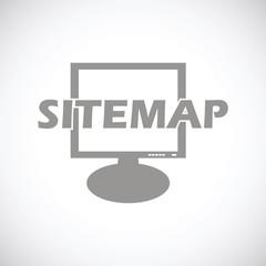 Sitemap black icon