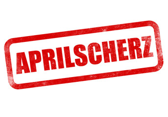 Aprilscherz Stempel, 1. April