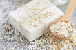 Oatmeal Soap handmade for a natural clean - 80333124