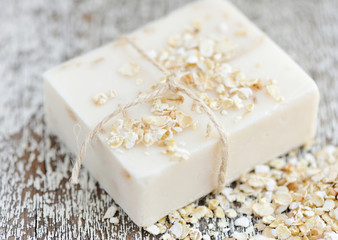 Oatmeal Soap handmade for a natural clean
