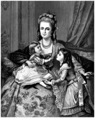 Aristocratic Family - end 18th century