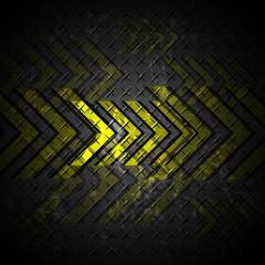 arrow on steel texture abstract design background