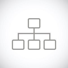 Structure black icon