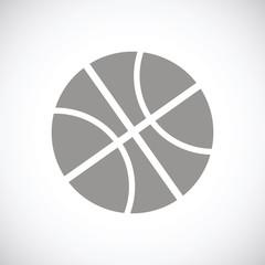 Basketball black icon
