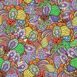 Fototapeta Seamless fruit pattern.