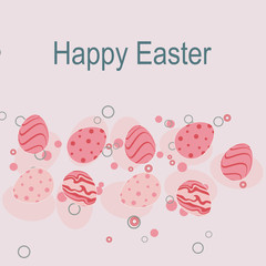 Easter template card
