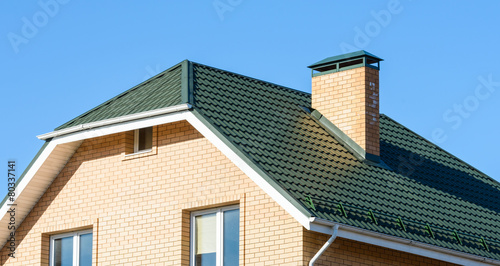 pipe on the roof - 80337141