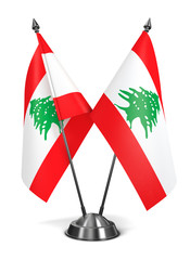 Lebanon - Miniature Flags.