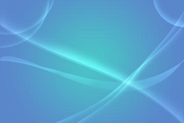 Onde astratte su sfondo blu