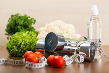Diet. Healthy lifestyle concept, Diet and fitness