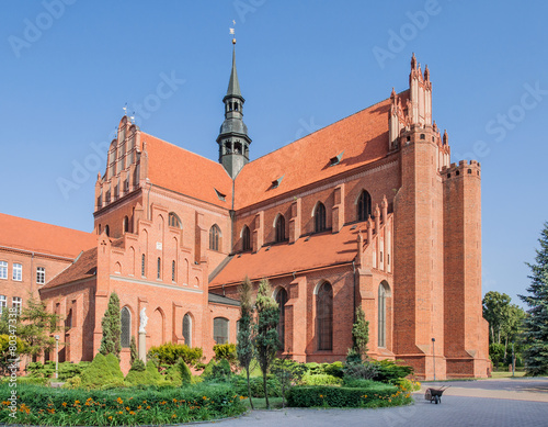 Cathedral in Pelplin, Poland - 80347338