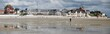 Leinwanddruck Bild - Le Crotoy, Baie de Somme, France