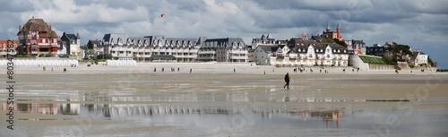 Leinwanddruck Bild Le Crotoy, Baie de Somme, France