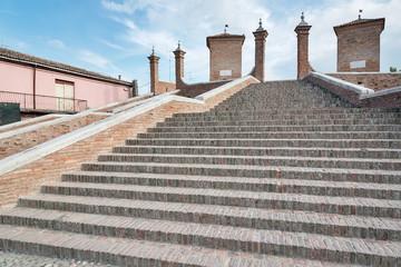 scalinata Trepponti, Comacchio