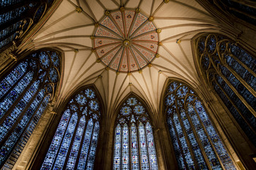 York Minster Chapter House Ceiling