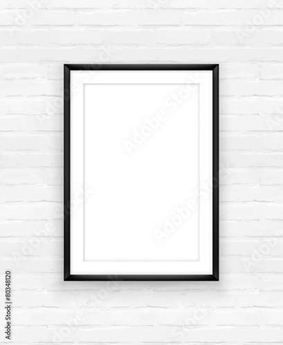 Poster frame design template - 80348120