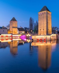 Strasbourg, les Ponts Couverts