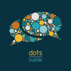 dots communication bubble