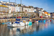 Mevagissey Harbour Cornwall England - 80350308