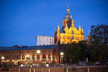 Upenski cathedral Helsinki Finland