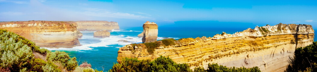 The Twelve Apostles by Great Ocean Road in Victoria, Australia