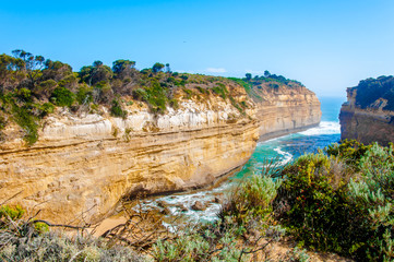 The Twelve Apostles by Great Ocean Road in Victoria, Australia